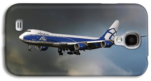 Airbridge Cargo Boeing 747-8hvf Galaxy S4 Case