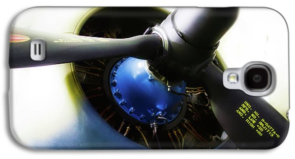 Airplane Military C47a Skytrain Engine Propeller Galaxy S4 Case