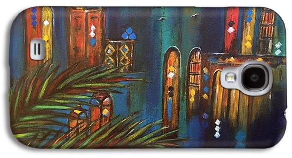 Good Evening Baghdad Galaxy S4 Case by Siran Ajel