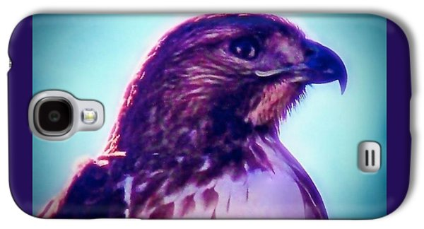 Ak-chin Red-tailed Hawk Portrait Galaxy S4 Case
