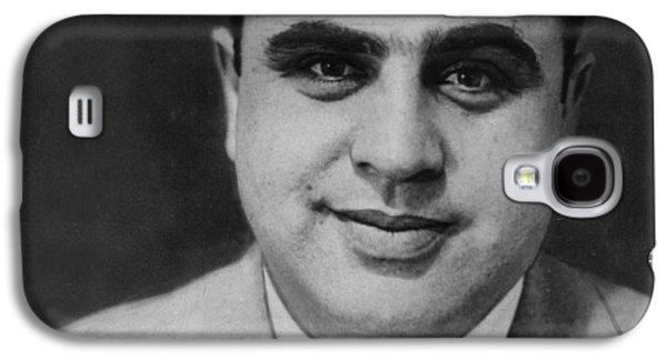 Police Paintings Galaxy S4 Cases - Al Capone Mug Shot 1931 Vertical Galaxy S4 Case by Tony Rubino