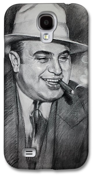 Al Capone  Galaxy S4 Case by Ylli Haruni
