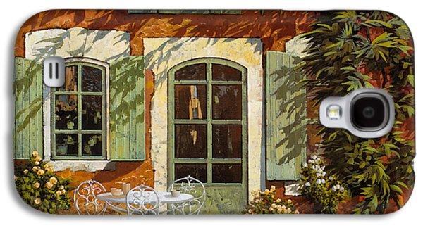 Al Fresco In Cortile Galaxy S4 Case by Guido Borelli