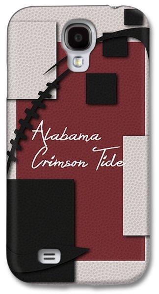 Alabama Crimson Tide Art Galaxy S4 Case by Joe Hamilton
