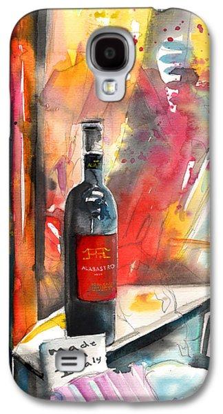 Alabastro Wine From Italy Galaxy S4 Case by Miki De Goodaboom