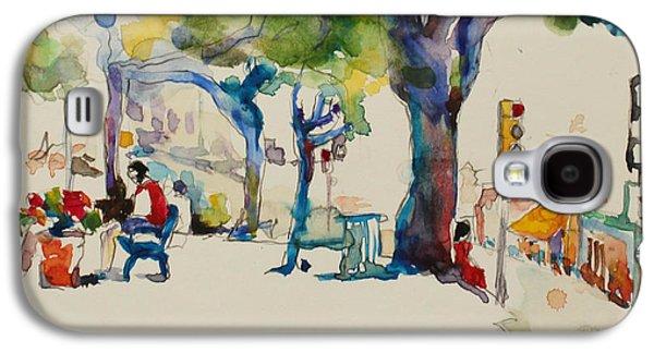 Alamo Plaza Galaxy S4 Case by Becky Kim