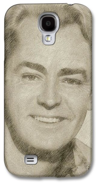 Alan Ladd Vintage Hollywood Actor Galaxy S4 Case by Frank Falcon