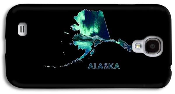 Alaska - Northern Lights - Aurora Hunters Galaxy S4 Case by Anastasiya Malakhova