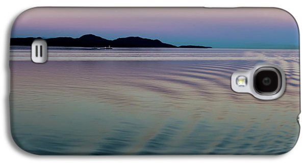 Alaskan Sunset At Sea Galaxy S4 Case