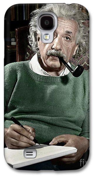 Portraits Galaxy S4 Case - Albert Einstein - To License For Professional Use Visit Granger.com by Granger