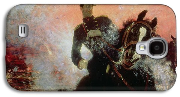 Albert I King Of The Belgians In The First World War Galaxy S4 Case by Ilya Efimovich Repin