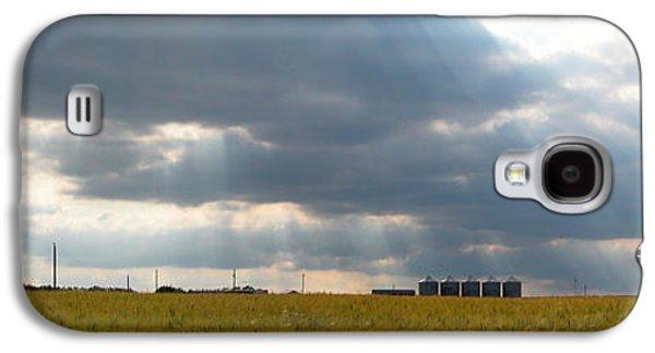 Alberta Wheat Field Galaxy S4 Case by Stuart Turnbull