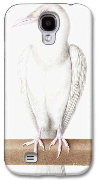 Albino Crow Galaxy S4 Case by Nicolas Robert