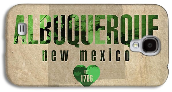 Albuquerque New Mexico City Love Established 1706 Series 005 Galaxy S4 Case