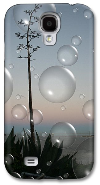 Alca Bubbles Galaxy S4 Case by Holly Ethan