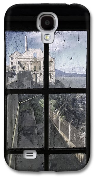 Alcatraz Photographs Galaxy S4 Cases - ALCATRAZ ESCAPE BEACH from GUARD HOUSE Galaxy S4 Case by Daniel Hagerman
