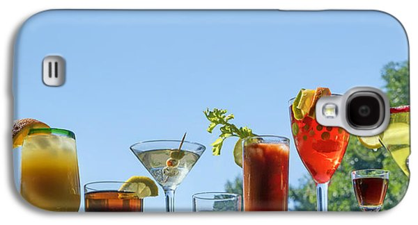 Alcoholic Beverages - Outdoor Bar Galaxy S4 Case by Nikolyn McDonald