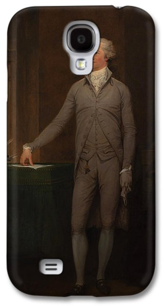 Alexander Hamilton Full-length Portrait Galaxy S4 Case by War Is Hell Store
