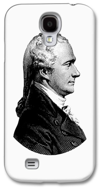 Alexander Hamilton Graphic Portrait  Galaxy S4 Case by War Is Hell Store
