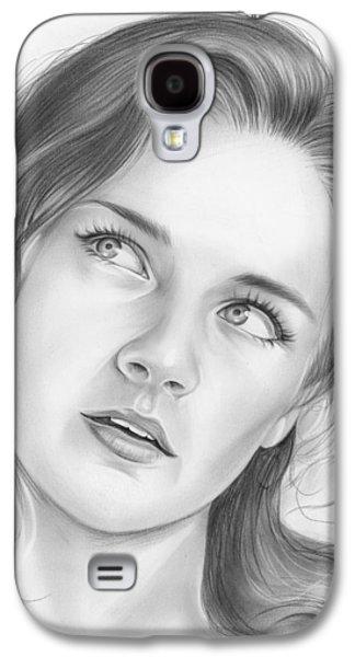 Alexis Bledel Galaxy S4 Case by Greg Joens