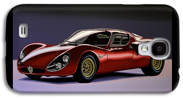 Alfa Romeo 33 Stradale 1967 Painting Galaxy S4 Case by Paul Meijering