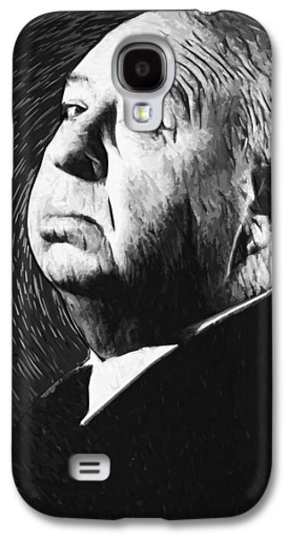 Alfred Hitchcock Galaxy S4 Case by Taylan Apukovska