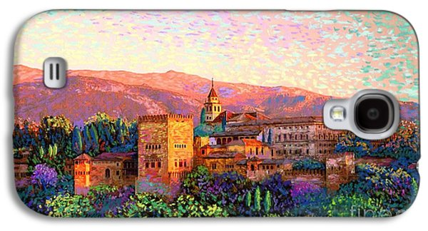 Alhambra, Grenada, Spain Galaxy S4 Case by Jane Small