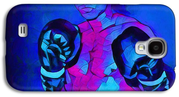 Ali Graphic Abstract Galaxy S4 Case by Dan Sproul