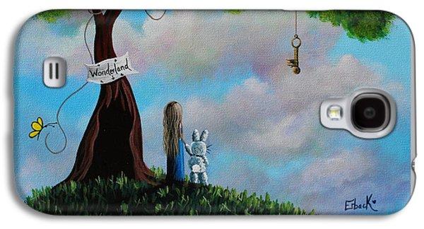 Alice In Wonderland Galaxy S4 Case