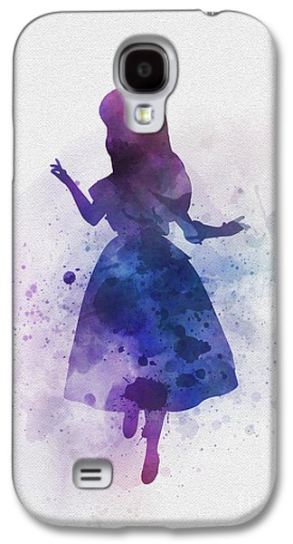 Alice Galaxy S4 Case by Rebecca Jenkins