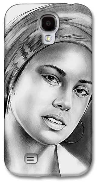Rhythm And Blues Galaxy S4 Case - Alicia Keys 2 by Greg Joens