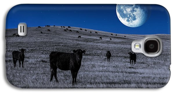 Alien Cows Galaxy S4 Case by Todd Klassy