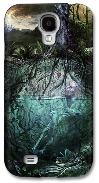 Alive Inside Galaxy S4 Case by Cameron Gray