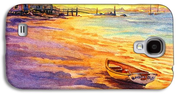 All Ashore That's Going Ashore Galaxy S4 Case by Virgil Carter