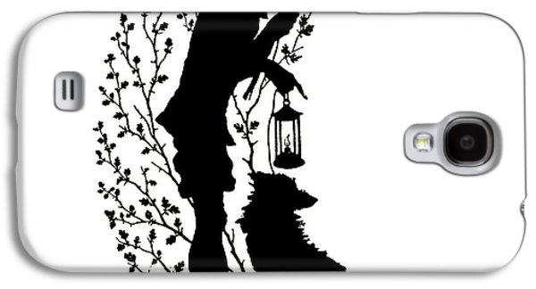 All I Wanted To Tell You Is That The Lantern Is The Moon Galaxy S4 Case by Paul Konewka