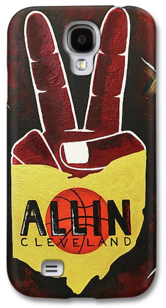 All In Galaxy S4 Case by Allison Liffman