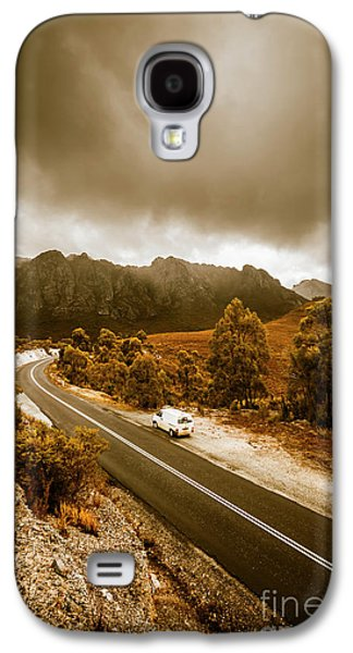 Travel Galaxy S4 Case - All Roads Lead To Adventure by Jorgo Photography - Wall Art Gallery
