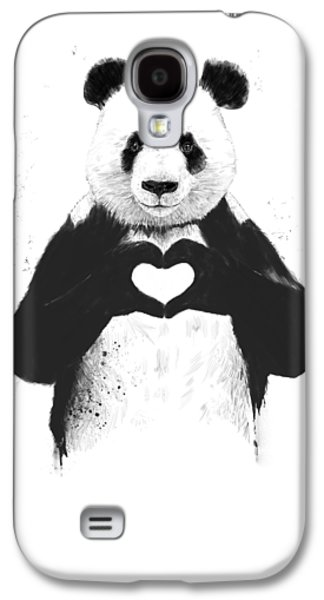 Galaxy S4 Case - All You Need Is Love by Balazs Solti