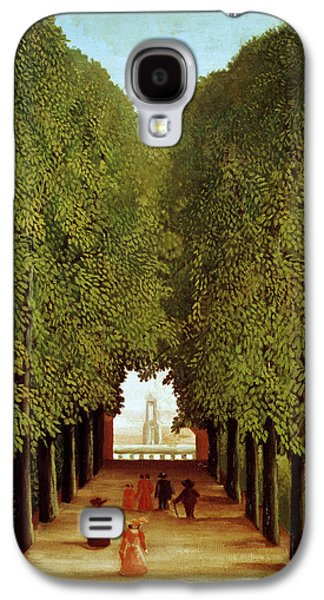 Alleyway In The Park Galaxy S4 Case by Henri Rousseau