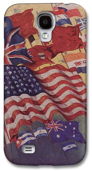 Allied Flags - World War II  Galaxy S4 Case