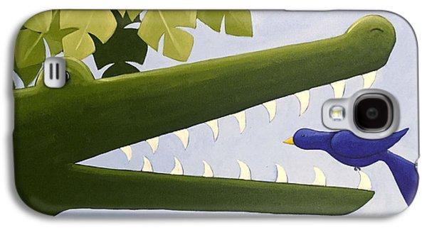 Alligator Nursery Art Galaxy S4 Case