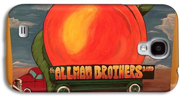 Peach Galaxy S4 Case - Allman Brothers Eat A Peach by Wes Beaver