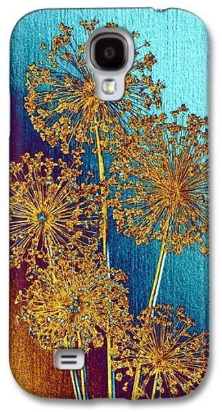 Alluring Allium Abstract 2 Galaxy S4 Case
