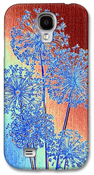 Alluring Allium Abstract Galaxy S4 Case
