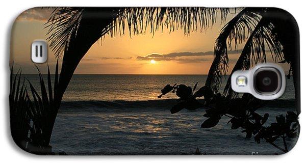 Aloha Aina The Beloved Land - Sunset Kamaole Beach Kihei Maui Hawaii Galaxy S4 Case
