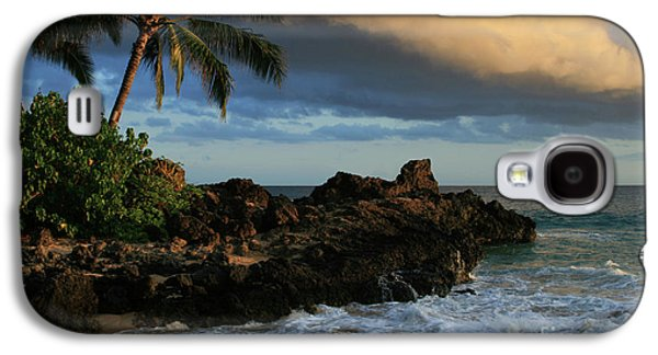 Aloha Naau Sunset Paako Beach Honuaula Makena Maui Hawaii Galaxy S4 Case