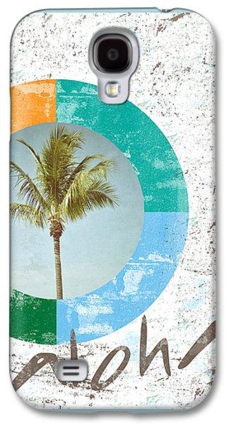 Aloha Palm Tree Galaxy S4 Case