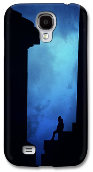 Alone In The City- Edinburgh Galaxy S4 Case by Cambion Art