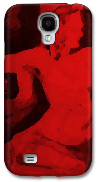 Alone With You Galaxy S4 Case by Santiago Acosta