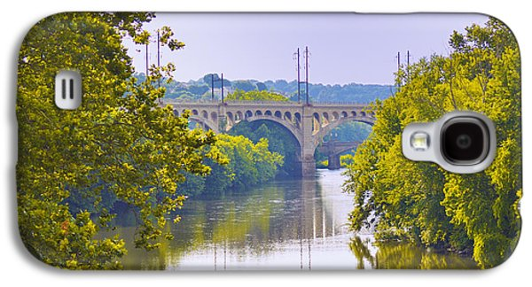 Schuylkill Galaxy S4 Cases - Along the Schuylkill River in Manayunk Galaxy S4 Case by Bill Cannon